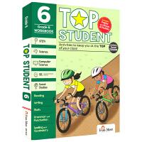 【首页抢券300-100】Evan-Moor Top Student Grade 6 美国加州教辅优等生系列英文原版进口