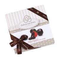巴布洛Paplo/草莓黑巧克力豆120g/盒