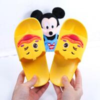 儿童拖鞋夏亲子一家三口卡通室内防滑男女童宝宝家居鞋小孩凉拖鞋