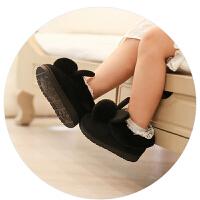 2017儿童棉拖鞋秋冬季可爱防滑男女童包跟家居公主室内小孩宝宝