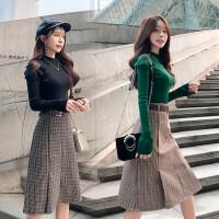 秋冬季套装女洋气俏皮时尚御姐新款气质休闲裙子女神范网红两件套