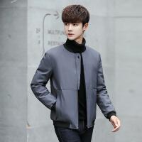 2017冬季新款立领棉衣男短款青少年学生韩版修身潮羽绒服外套