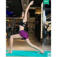 健身房瑜伽服女专业运动文胸套装休闲运动服装女显瘦短裤两件套跑步装备支持礼品卡支付