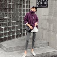 七格格打底裤女外穿2019新款冬季裤子高腰显瘦长裤修身黑色安全裤