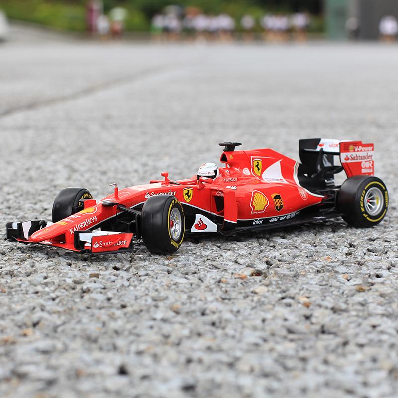 法拉利F1 1:24奔驰AMG F1方程式高速电动跑车遥控赛车仿真