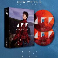 正版 �A晨宇���w�]� 四�� 新世界new world�pCD+��真歌�~本+海��