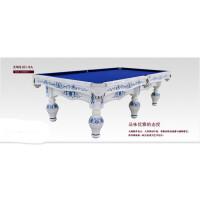 台球桌美式落袋XW8101-9A 家用黑八星牌桌球台案子中式