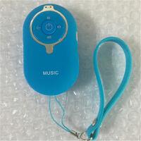创意迷你小钢炮手机无线蓝牙音箱便携随身微型插卡小音响 蓝色