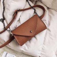 女包包 韩版女士时尚休闲链条小包包腰包单肩斜挎包