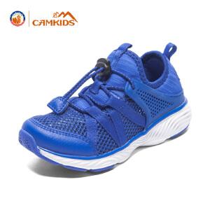 CAMKIDS童鞋男女童鞋跑鞋2018春季新款儿童运动鞋中大童网鞋