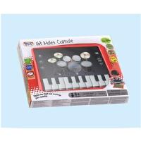 宝宝婴幼儿童拍拍鼓架子鼓电子琴钢琴早教益智音乐玩具掌上游戏机