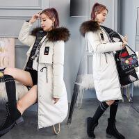2018秋季新款反季2018韩版双面穿羽绒棉衣女冬季加厚中长款棉袄外套潮