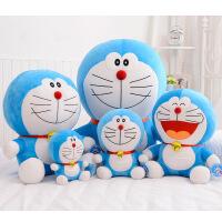哆啦a梦公仔毛绒玩具机器猫抱枕叮当猫蓝胖子娃娃儿童生日礼物女