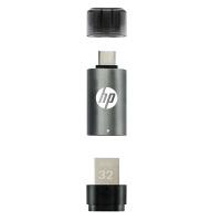 惠普X5000M 32G Type-C手机U盘32g 32gu盘USB3.1电脑两用优盘华为P9小米M5