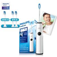 飞利浦(PHILIPS) 电动牙刷 成人声波震动(自带刷头*2) 智能净白 牙龈呵护 HX3226/51(新老包装随机
