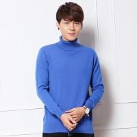 冬装加厚高领毛衣 男士韩版修身毛衣毛衫打底衫针织衫线衣潮男装