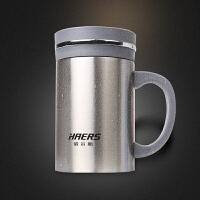 哈尔斯不锈钢真空保温杯HBG-500-1办公杯水杯带滤网手柄500ml