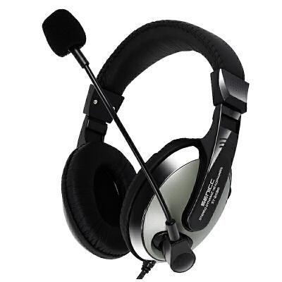 头戴式耳机 笔记本台式机电脑 游戏耳麦 麦克风话筒声丽 ST-2688  套餐一 质量问题一年包换 发货周期:一般在付款后2-90天左右发货,具体发货时间请以与客服协商的时间为准