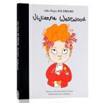 Little People, BIG DREAMS 小女孩大梦想系列 维维安・韦斯特伍德 英文原版 Vivienne