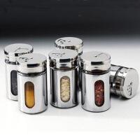 不锈钢牙签胡椒罐粉桶厨房必备佐料瓶盐味精瓶调味罐