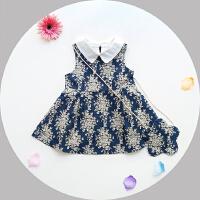 1-3岁女宝宝连衣裙夏季民族风背心裙女婴儿裙子送挎包
