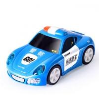 电动玩具车儿童电动警车男孩仿真跑车2-4岁声光电动车 798A神速警车