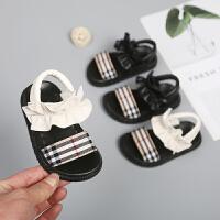 女宝宝凉鞋儿童软底婴儿学步鞋子女童春夏小童公主鞋软