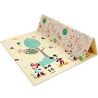 迪士尼宝宝爬行垫加厚可折叠xpe环保无味婴儿防潮垫地席野餐垫