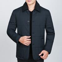 男士棉衣中年男士外套爸爸装中老年男装冬装外套冬季新款