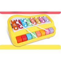 欢乐大木琴音婴儿手敲琴宝宝玩具小木琴打击儿童敲打音乐器