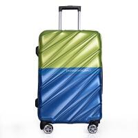 新款�中遥新款pc拉杆箱万向轮登机箱旅行箱224寸20寸行李箱