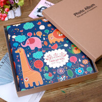 家庭相册影集插页式塑封相册本6寸400/800张宝宝成长纪念创意礼物