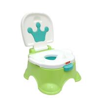 【当当自营】费雪 音乐马桶适合男女宝宝儿童便携坐便器BGP36绿色婴儿清洁用品