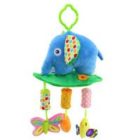 宝宝摇铃床头铃床挂风铃 婴儿风铃推车挂件铃响纸玩具 大象 风铃