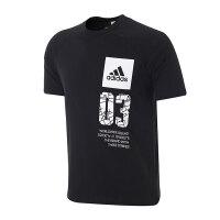 adidas阿迪达斯女装短袖T恤2018运动服BK4297