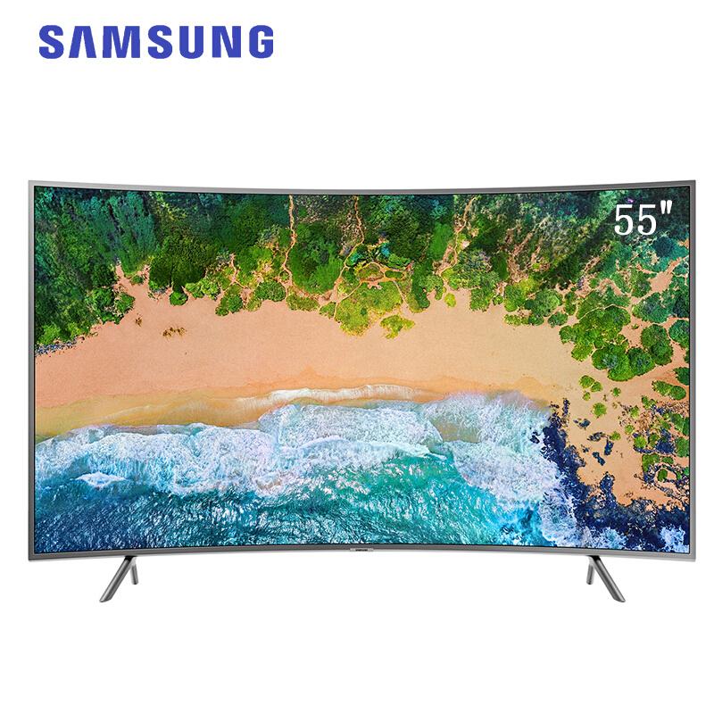 三星(SAMSUNG)UA55NU7300JXXZ 55英寸4K超高清HDR纤窄边框智能网络曲面电视55英寸4K超高清HDR纤窄边框智能网络曲面