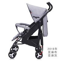 婴儿推车超轻便携式可坐躺折叠幼儿童简易迷你宝宝小手推伞车夏季
