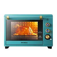柏翠电烤箱 38L家用 搪瓷内胆 上下独立控温 热风多功能PE3040GR