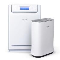 Airpal爱宝乐空气净化器家用除甲醛智能负离子除烟办公室室内油烟ap450a+AP280