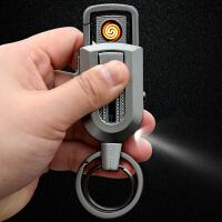 SUB多功能充电打火机汽车钥匙扣 男士女士腰挂钥匙挂件礼品锁匙扣钥匙圈