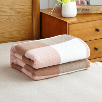毛巾被纯棉单人双人水洗全棉毛巾毯夏季空调毯夏凉被纱布毯可水洗