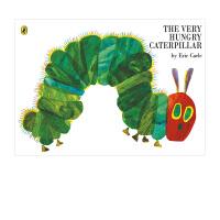 好饿的毛毛虫纸板书 The Very Hungry Caterpillar 英文原版儿童绘本