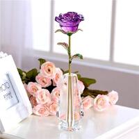 情人节生日礼物送女友女生老婆女朋友浪漫实用diy个性创意玫瑰花创意礼品定制