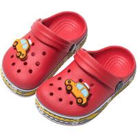 儿童拖鞋夏季1-3岁宝宝2防滑软底男童外出沙滩女童