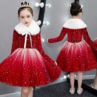 元旦儿童演出服合唱服秋冬幼儿园圣诞节表演服装公主裙小学生衣服