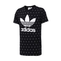 adidas阿迪达斯三叶草男子短袖T恤2018新款LOGO款休闲运动服CZ1759