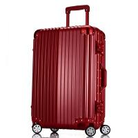七夕礼物20拉杆箱铝框万向轮24行李箱旅行箱子29寸登机箱男女