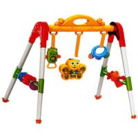 婴幼儿玩具 欢乐摇铃健身架玩具宝宝儿童早教益智礼盒装生日礼物 健身架