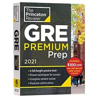 普林斯顿 GRE考试备考指南2021优质版 Princeton Review GRE Premium Prep 2021