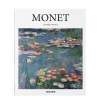 【现货正版包邮】英文原版 Monet 莫奈 印象派 TASCHEN 画册画集 油画艺术作品 大开本